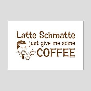 Latte Schmatte Mini Poster Print
