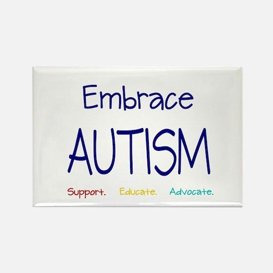 Embrace Autism Rectangle Magnet