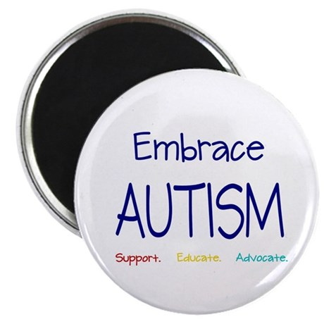 "Embrace Autism 2.25"" Magnet (10 pack)"