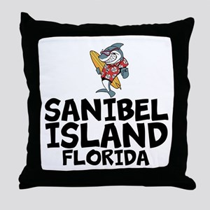 Sanibel Island, Florida Throw Pillow