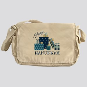 Happy Hanukkah Messenger Bag