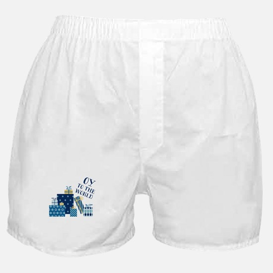Oy To World Boxer Shorts