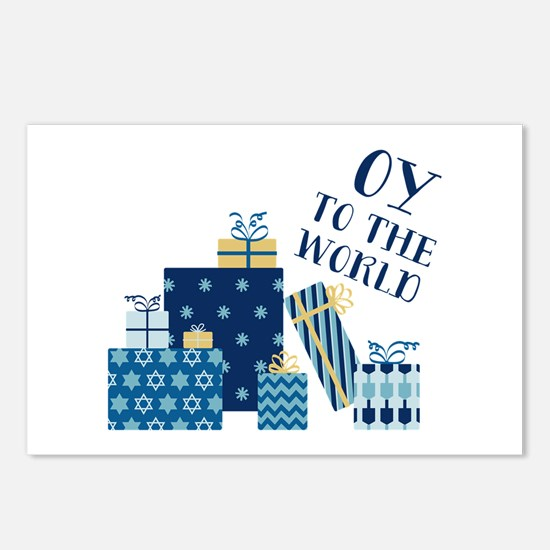 Oy To World Postcards (Package of 8)