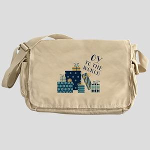 Oy To World Messenger Bag