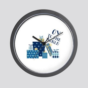 Oy To World Wall Clock