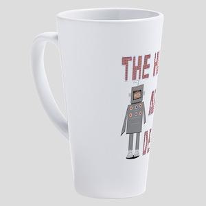 Humans are Dead 17 oz Latte Mug