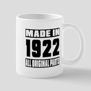 Made In 1922 Mug