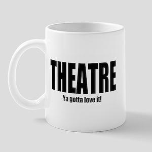 """ThMisc """"Theatre"""" Mug"""