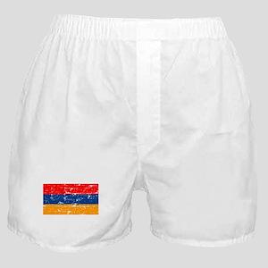 armeniaflagblack Boxer Shorts