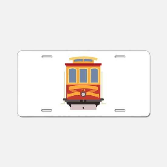 San Francisco Trolley Aluminum License Plate