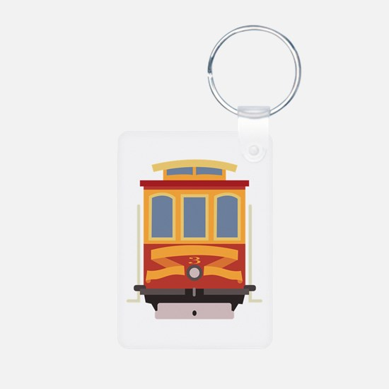 San Francisco Trolley Keychains