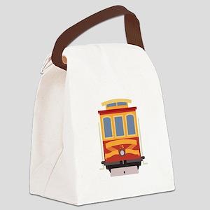 San Francisco Trolley Canvas Lunch Bag