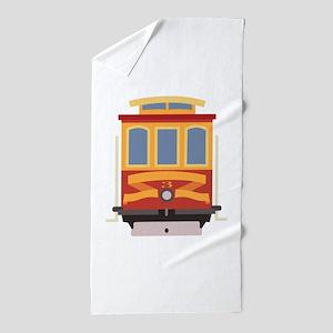 San Francisco Trolley Beach Towel