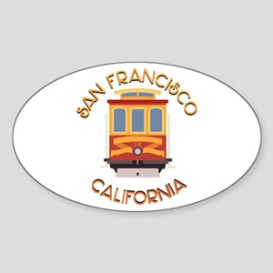 San Francisco Cable Car Sticker
