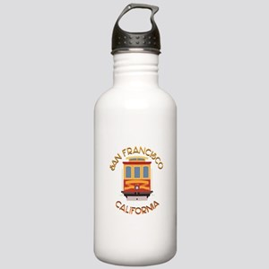 San Francisco Cable Car Water Bottle