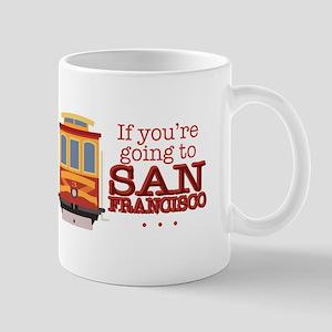 Going To San Francisco Mugs