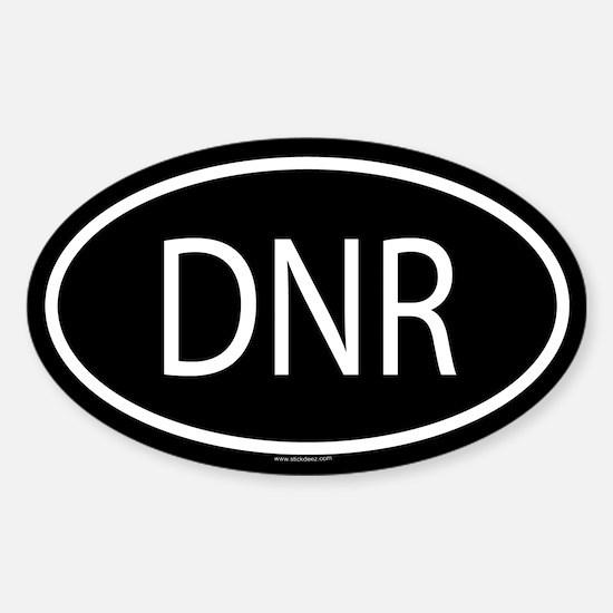 DNR Oval Decal