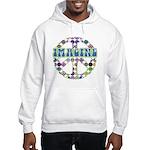 Retro Peace Sign Imagine Hooded Sweatshirt
