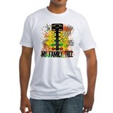 Drag racing christmas tree Fitted Light T-Shirts