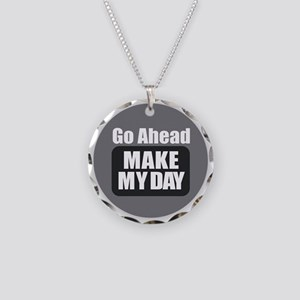 Make Necklace Circle Charm