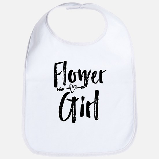 Kids Flower Girl Bridesmaid Wedding Reception Bib