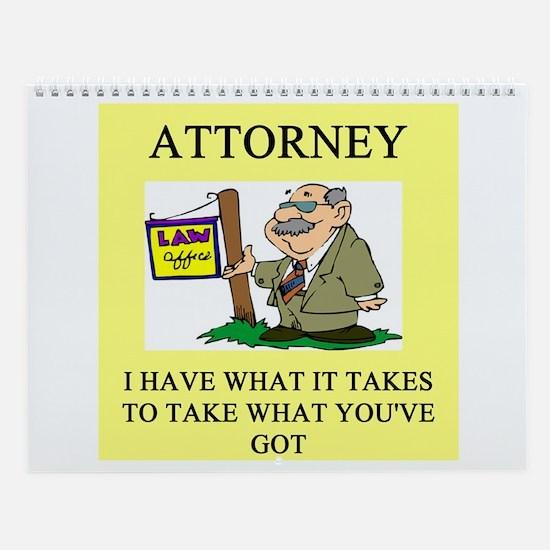 Lawyer Wall Calendar