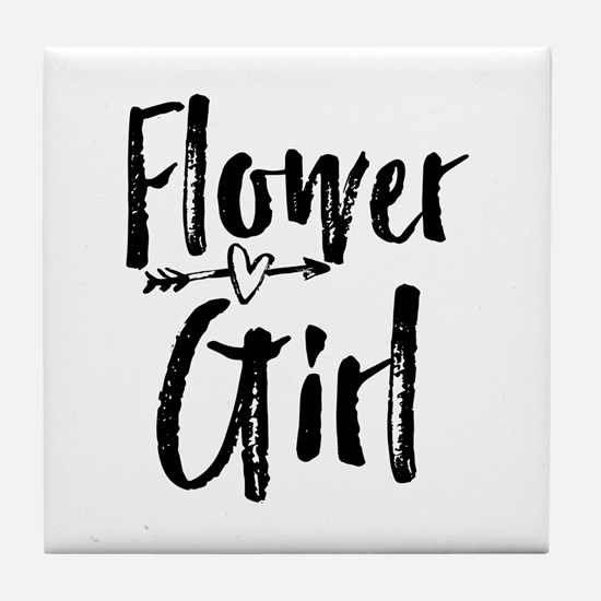 Kids Flower Girl Bridesmaid Wedding Reception Tile