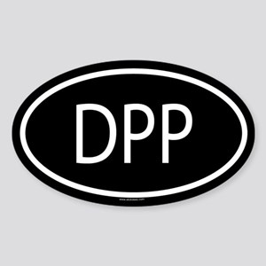 DPP Oval Sticker