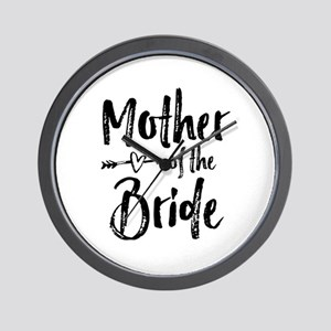 Mother-of-the-Bride Wall Clock