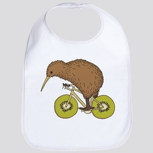 Kiwi Riding Bike With Kiwi Wheels Bib