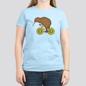 Kiwi Riding Bike With Kiwi Wheels T-Shirt