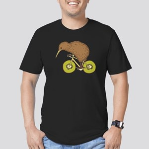 Kiwi Riding Bike With Kiwi Wheels T-Shirt