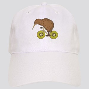 Kiwi Riding Bike With Kiwi Wheels Cap