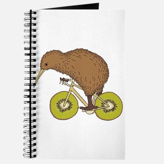 Kiwi Riding Bike With Kiwi Wheels Journal
