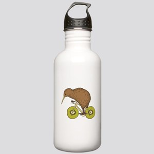 Kiwi Riding Bike With Stainless Water Bottle 1.0L