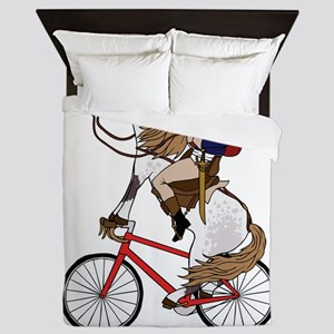 Napoleon Riding Horse Who's Riding A B Queen Duvet