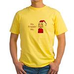 Ho Frickin' Ho Yellow T-Shirt
