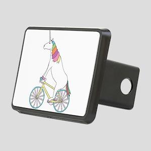 Unicorn Riding Bike With U Rectangular Hitch Cover