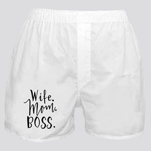 Mother's Day Wife Mom Boss - Wife. Mom. Boss. Boxe