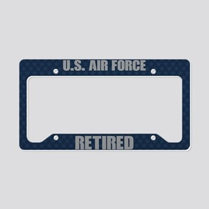 U.S. Air Force Retired License Plate Holder