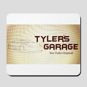Tyler's Garage Logo Mousepad