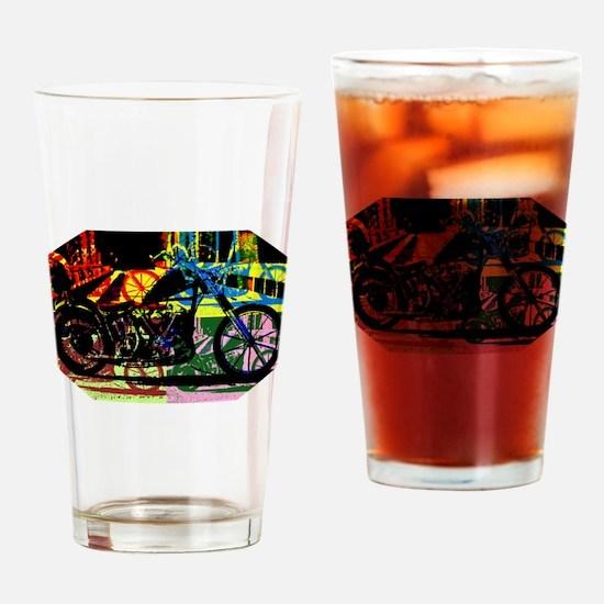 Chopper Drinking Glass
