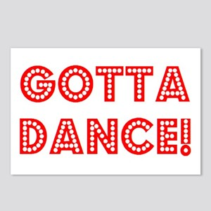 gotta dance Postcards (Package of 8)