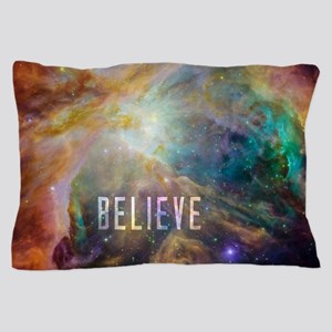Believe - View of Orion Nebula Pillow Case