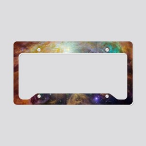 Believe - View of Orion Nebul License Plate Holder