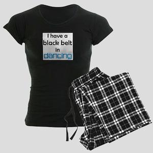 dancing black belt Women's Dark Pajamas