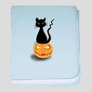 Cat_pumpkin baby blanket