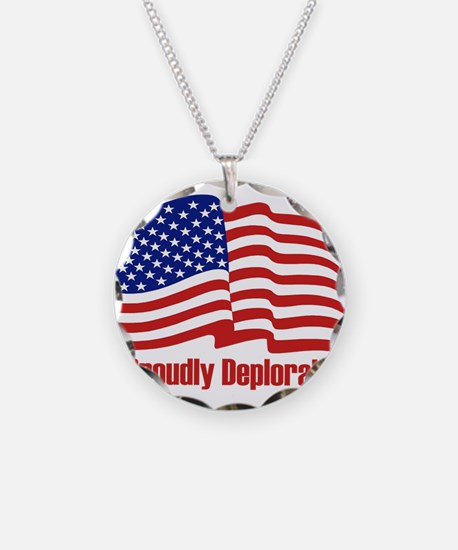 Proudly deplorable Necklace