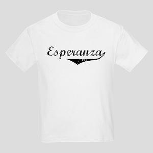 Esperanza Vintage (Black) Kids Light T-Shirt