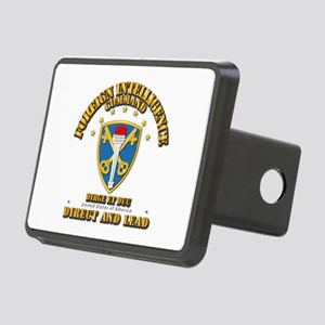 Foreign Intelligence Comma Rectangular Hitch Cover